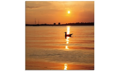 Artland Glasbild »Sonnenuntergang am Meer«, Sonnenaufgang & -untergang, (1 St.) kaufen