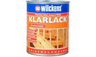 Wilckens Farben Klarlack »seidenglänzend«, gut füllend und verlaufend kaufen