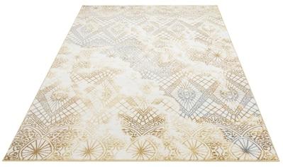 Teppich, »Eldor«, Leonique, rechteckig, Höhe 11 mm, maschinell gewebt kaufen
