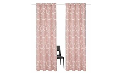Vorhang, »Kade«, my home Selection, Ösen 2 Stück kaufen