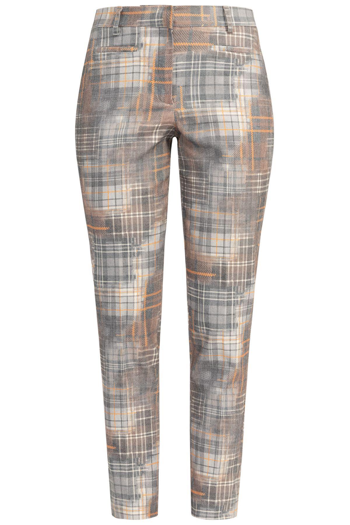 recover pants -  Stoffhose, mit Karodruck