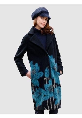 Mona Walkmantel mit Blüten - Motiv kaufen
