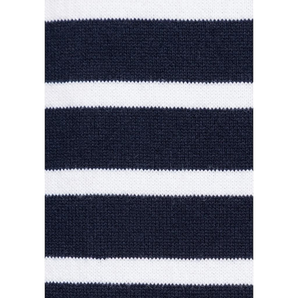 Tommy Hilfiger Streifenpullover »HERITAGE BOAT NECK SWEATER«, im klassischem Ringeldessin