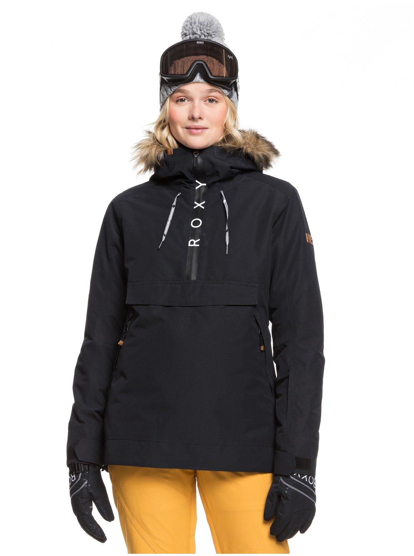 Roxy Snowboardjacke Shelter | Sportbekleidung > Sportjacken > Snowboardjacken | Schwarz | Roxy