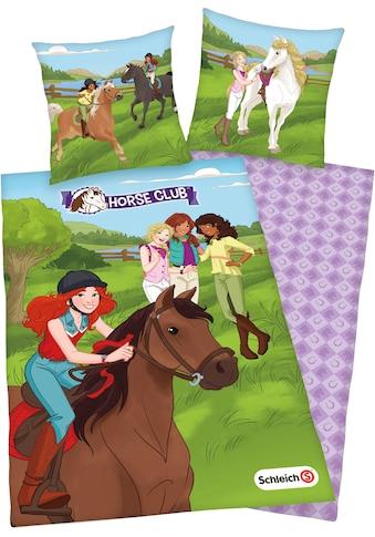 """Schleich® Kinderbettwäsche »Schleich Horse Club«, mit tollem """"Horse Club"""" Motiv kaufen"""