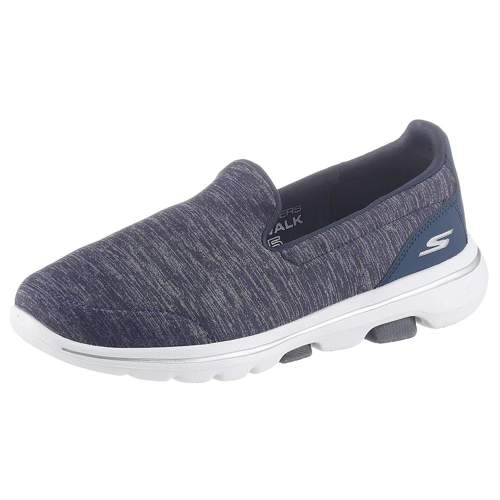 Skechers Slipper »Go Walk 5 - Honor«, mit Comfort Pillar Technology