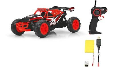 "Jamara RC - Monstertruck ""Cubic Desert Buggy 2,4 GHz 1:14 rot/schwarz"" kaufen"