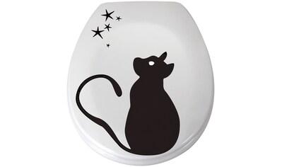MSV WC-Sitz »CAT«, Duroplast, mit Softclose kaufen