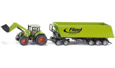 Siku Spielzeug-Traktor »SIKU Farmer, Claas Axion 850 mit Dolly und Muldenkipper« kaufen