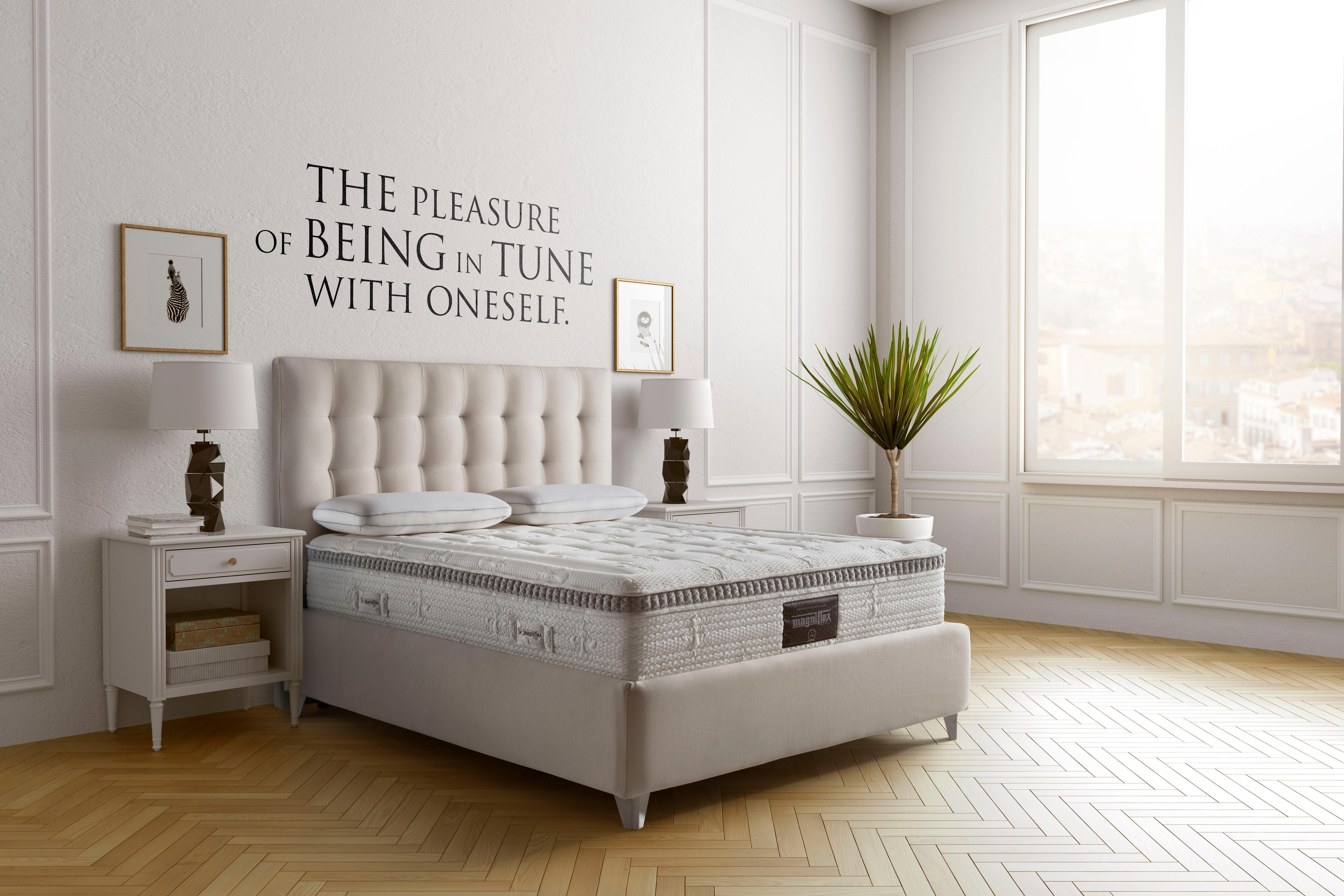 visco matratze armonia magnigel dual 12 magniflex 30 cm hoch bestellen baur. Black Bedroom Furniture Sets. Home Design Ideas