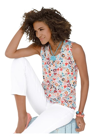 Classic Basics Shirttop im Blümchen - Dessin kaufen