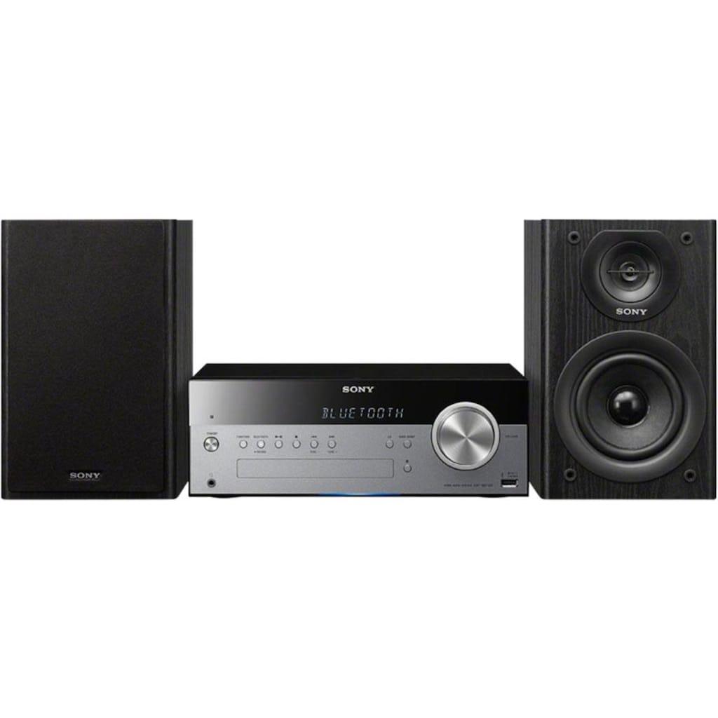 Sony »CMTSBT100B« Microanlage (FM-Tuner,Digitalradio (DAB+), 50 Watt)