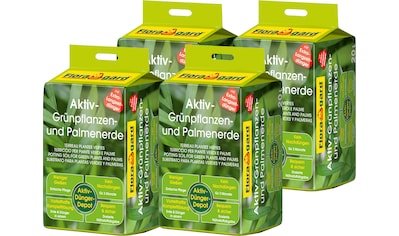 FLORAGARD Grünplanzen -  und Palmerde »Aktiv«, 4x20 Liter kaufen