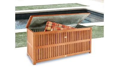 Auflagenbox , 130x58x55 cm, Eukalyptusholz, braun kaufen