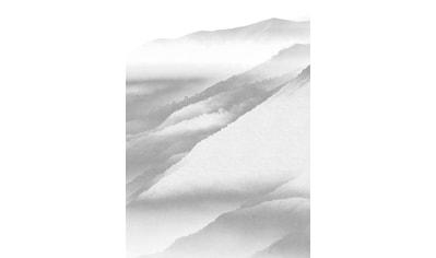 KOMAR Packung: Fototapete »White Noise Mountain«, aus Vlies kaufen