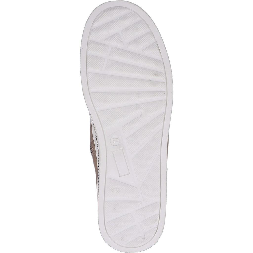 Sansibar Schnürstiefelette »Leder«