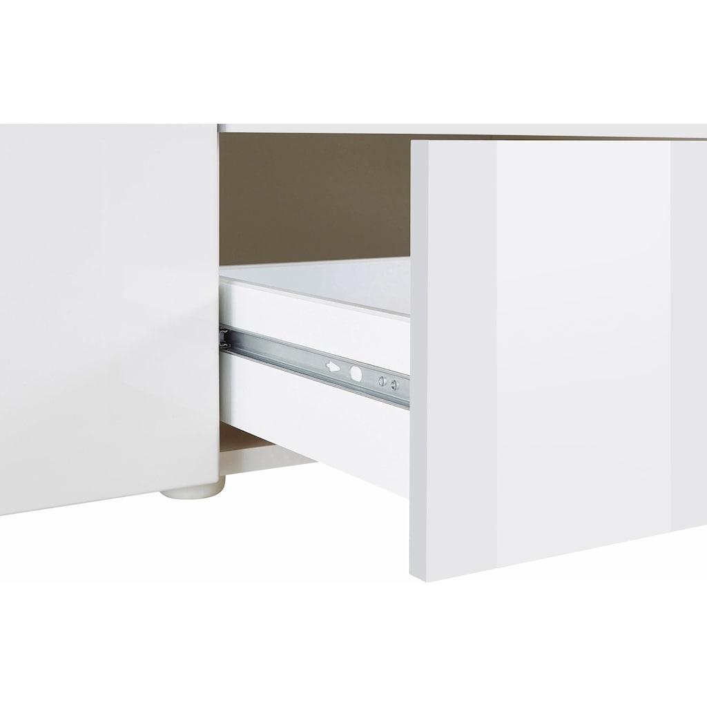 borchardt Möbel Lowboard »Kapstadt«, Breite 200 cm mit 2 Schubkästen