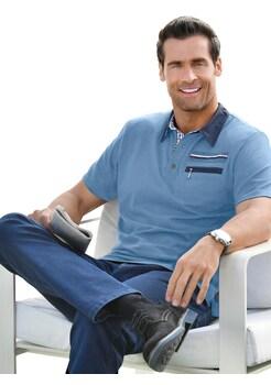 479406c38003d1 Marco Donati Kurzarm - Shirt mit konfektioniertem Kragen kaufen