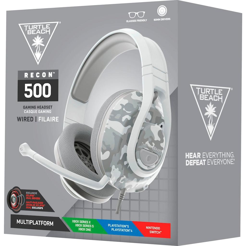 Turtle Beach Gaming-Headset »Recon 500 schwarz«, Mikrofon abnehmbar