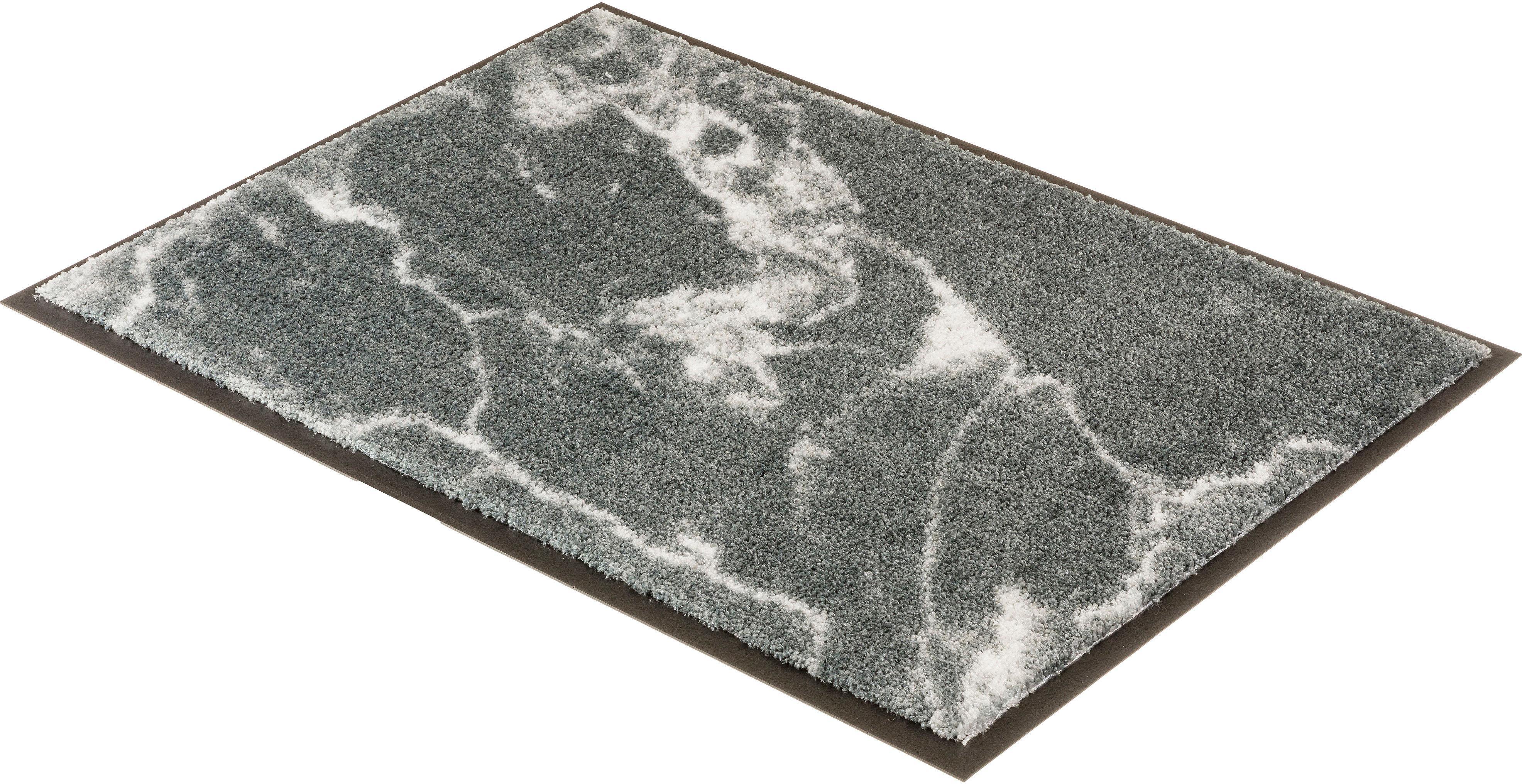 Fußmatte Miami 001 SCHÖNER WOHNEN-Kollektion rechteckig Höhe 7 mm maschinell getuftet