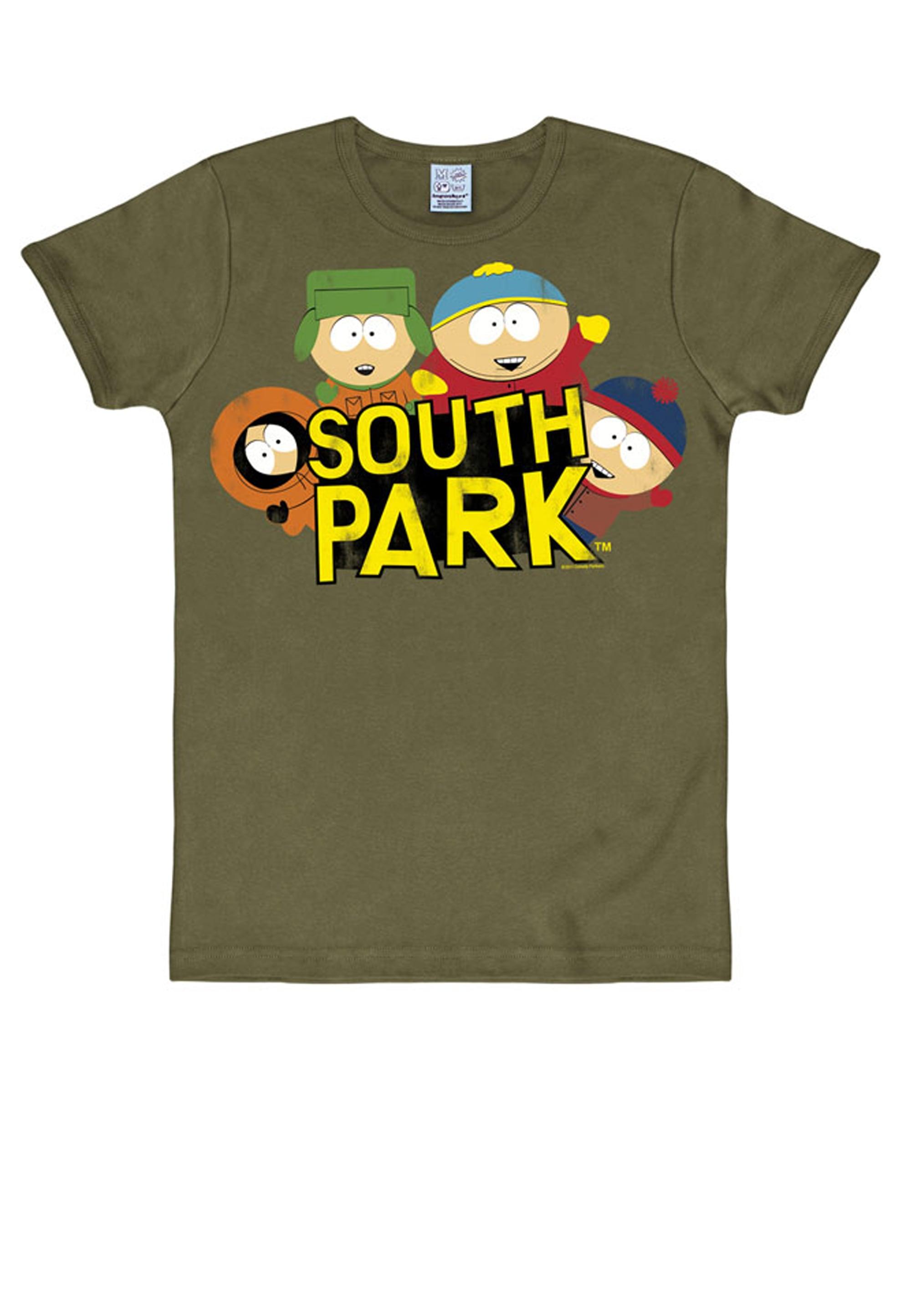 LOGOSHIRT T-Shirt mit witzigem Print South Park Herrenmode/Große Größen/Shirts