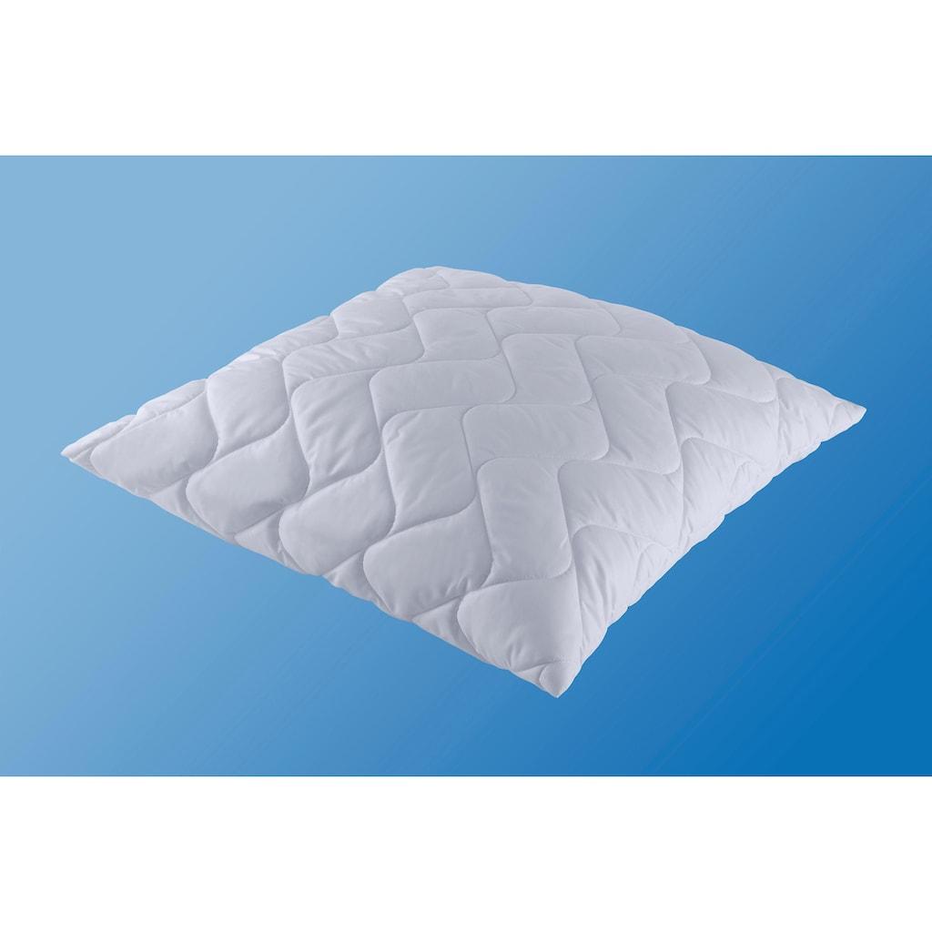 f.a.n. Schlafkomfort Microfaserbettdecke + Kopfkissen »Microfaser kochfest«, (Spar-Set)