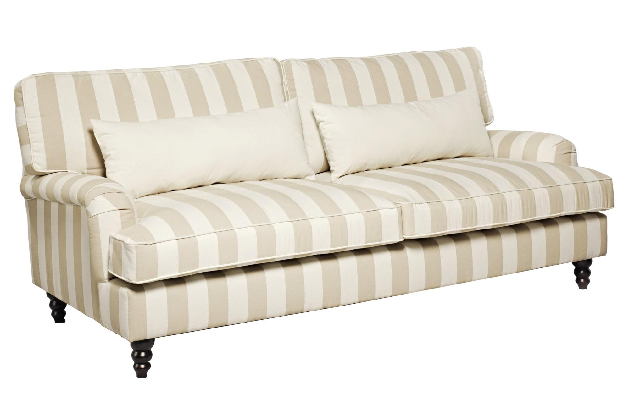 heine home Sofa Sitz auf Wellenunterfederung