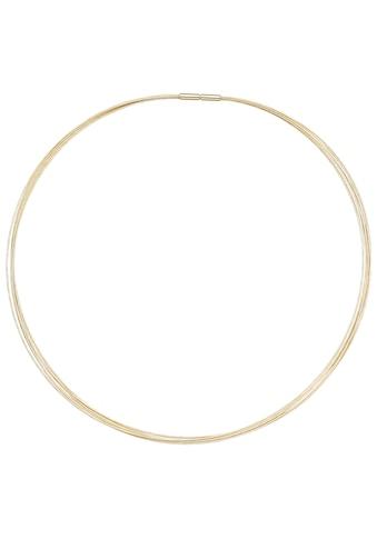 JOBO Halsreif, 7-reihig 585 Gold 45 cm kaufen