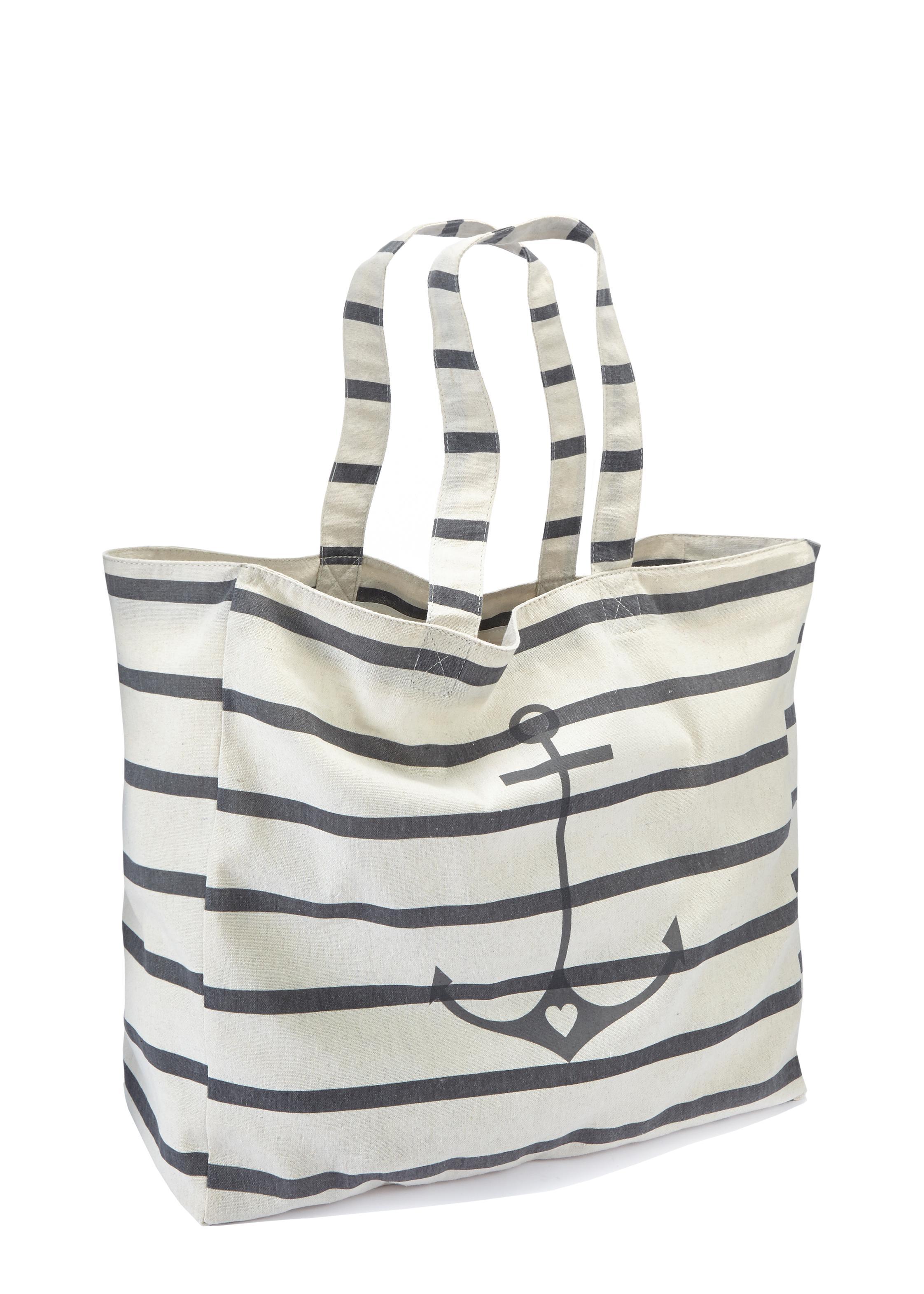 LASCANA XL-Strandtasche | Taschen > Handtaschen > Strandtaschen | Lascana