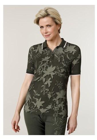 Mona Poloshirt, mit angenehmem Strickkragen kaufen