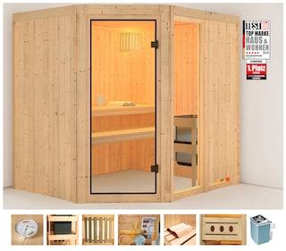 konifera sauna sofia 2 g nstig baur. Black Bedroom Furniture Sets. Home Design Ideas