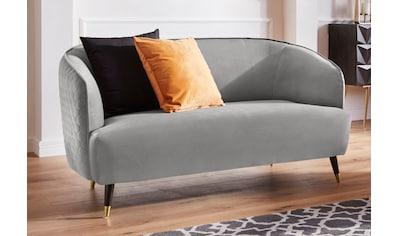 Guido Maria Kretschmer Home&Living 2-Sitzer »Oradea«, mit eleganter Steppung auf Rückseite der Rückenlehne kaufen