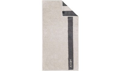 Joop! Handtücher »INFINITY Doubleface«, (2 St.), mit kontrastierendem Streifen kaufen