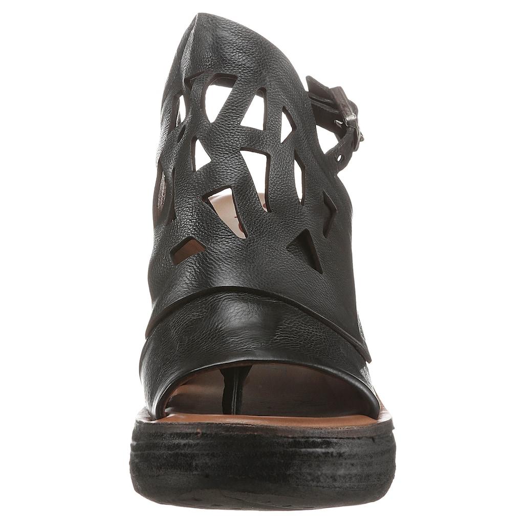A.S.98 Sandalette »NOA«, mit modischen Cut Outs
