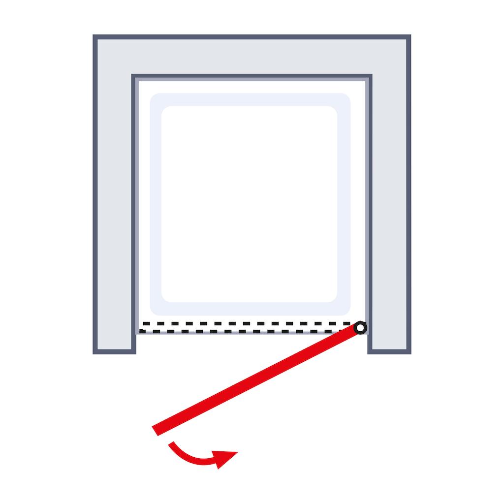 Schulte Drehtür »Alexa Style 2.0«, BxH: 90 x 192 cm