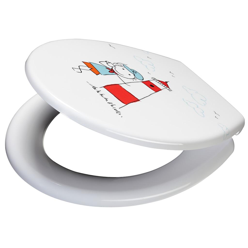 ADOB WC-Sitz »Cortina«, Mit Absenkautomatik