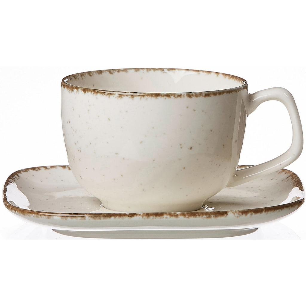 """Ritzenhoff & Breker Kaffeeservice """"CASA"""" (12-tlg.), Steinzeug"""