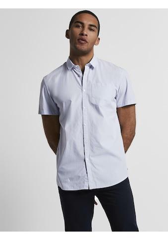 TOM TAILOR Denim Streifenhemd »Gestreiftes Hemd« kaufen