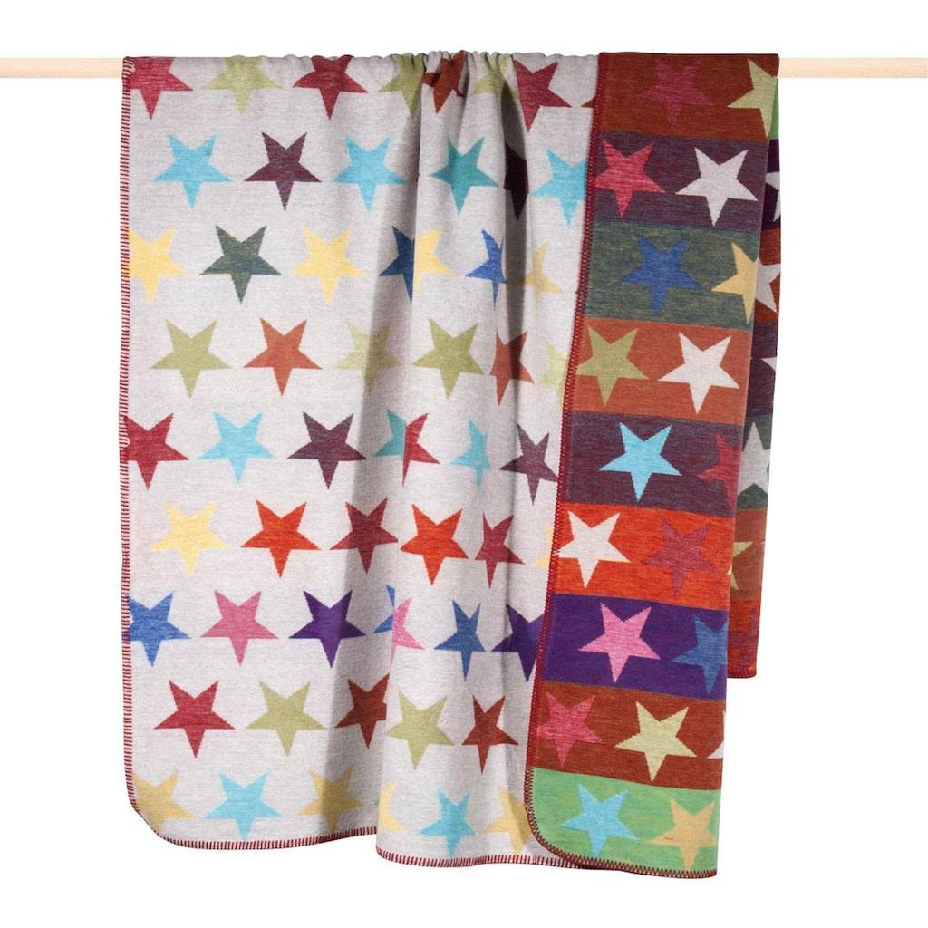 PAD Wohndecke »Stars«, mit bunten Sternen