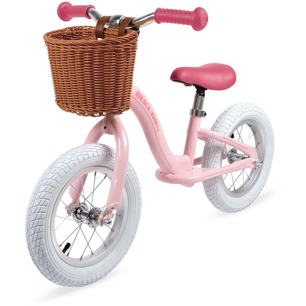 Janod Laufrad »Vintage-Bikloon, rosa«, mit Korb