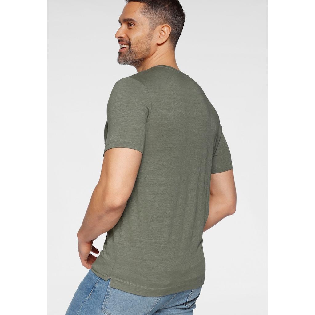OLYMP T-Shirt »Luxor modern fit«, mit Brusttasche