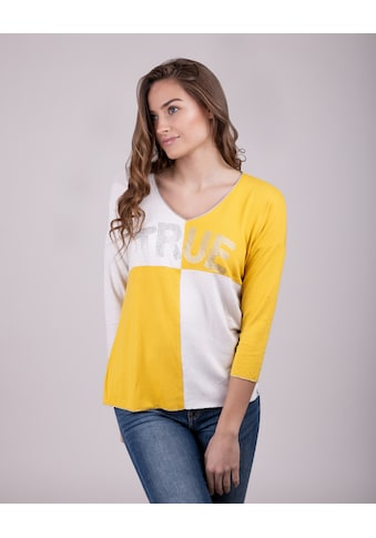Key Largo V-Ausschnitt-Pullover »CHESS«, in tollem Design kaufen