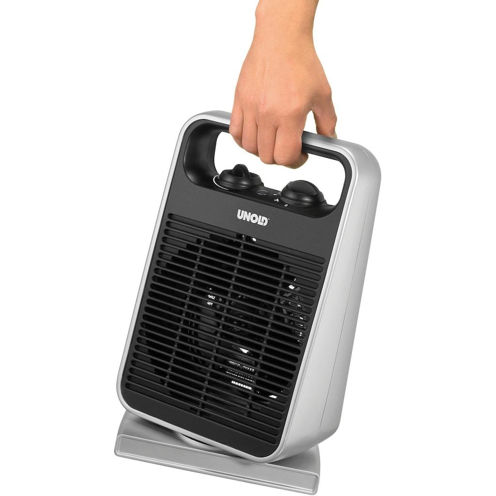 Unold Heizlüfter »Rotate 86116«, 2000 W