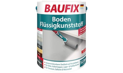 Baufix Acryl-Flüssigkunststoff, 5 Liter, grau kaufen