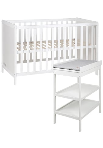 roba® Babymöbel-Set »Style«, (Spar-Set, 2 St.), mit Kinderbett und Wickelregal kaufen