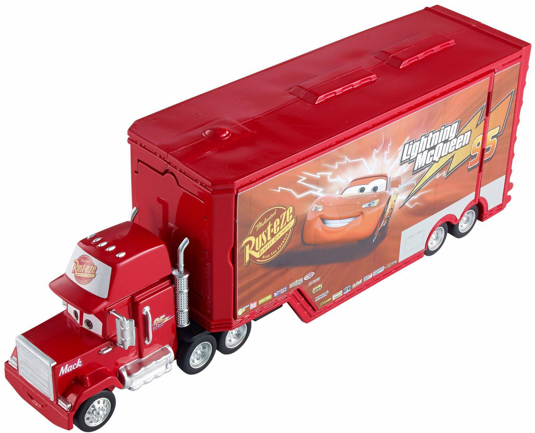"Mattel Spielzeug-LKW ""Disney Cars 3-in-1 Megasprung Mack"""