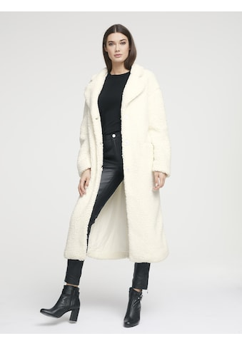 Mantel in Teddy - Plüsch kaufen