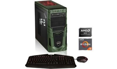 Hyrican »Military Gaming 6477« Gaming - PC (AMD, Ryzen 5, GTX 1650 SUPER, Luftkühlung) kaufen