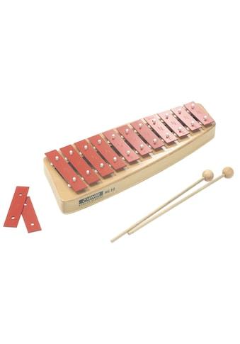 Xylophon »Glockenspiel NG 10, Sopran«, Made in Germany kaufen
