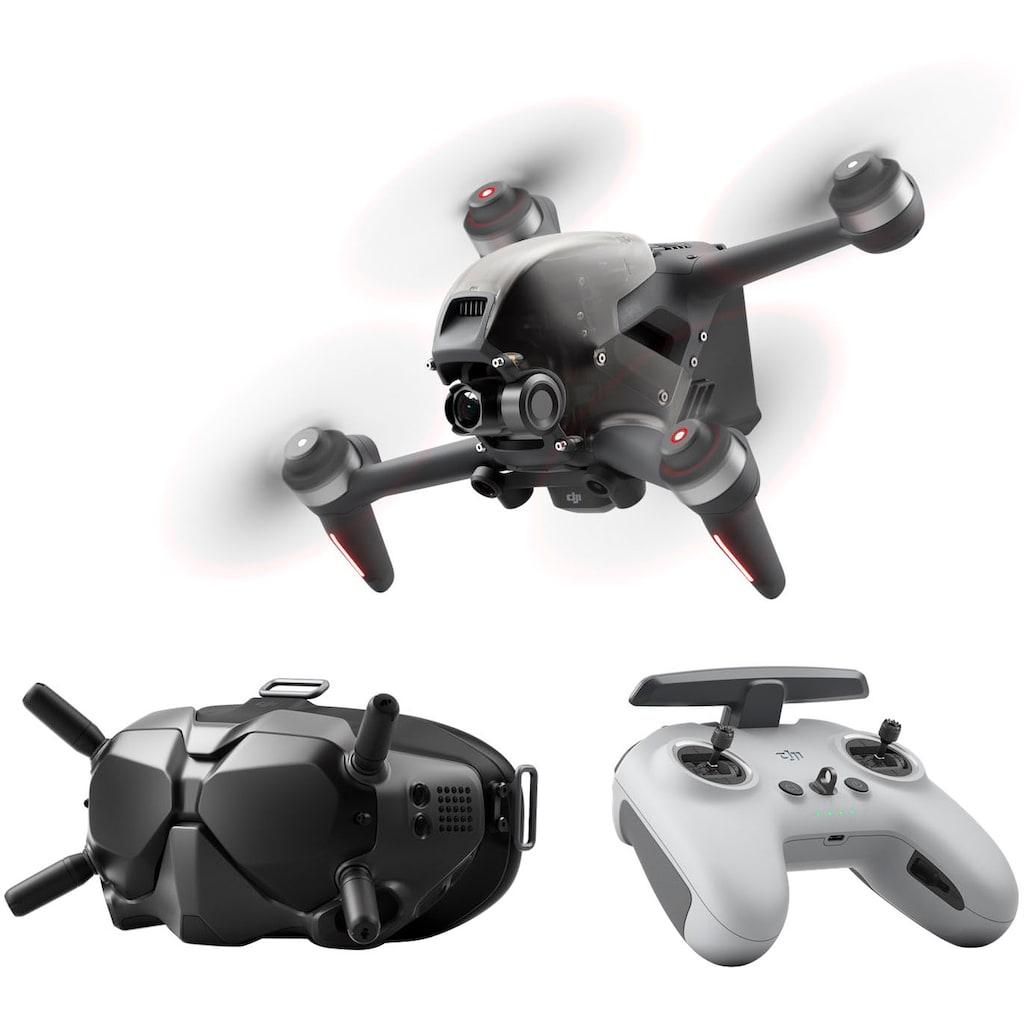 dji Drohne »FPV Combo«, First-Person View Drohne Flycam Quadrocopter UAV, OcuSync 3.0 HD-Übertragung, 4K-Video, Superweites 150 ° FOV, Beeindruckendes Flugerlebnis